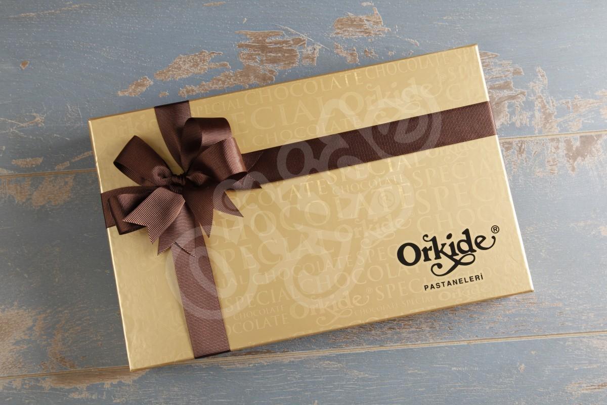 Hediyelik Baton Çikolata (dikdörtgen kutu)